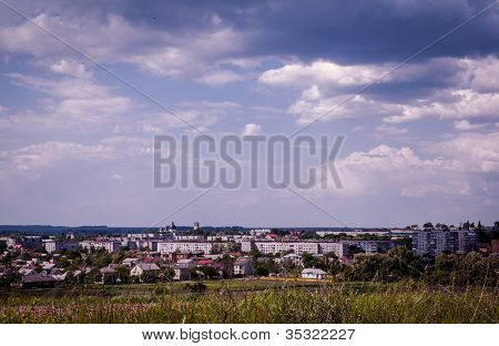 View On A Town