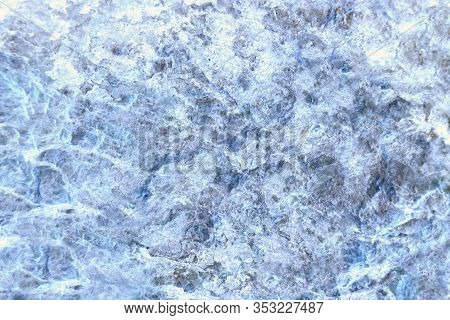 Ancient Ice Frost Color Granite Stone Surface Of Cave For Interior