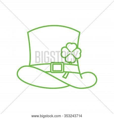 St. Patricks. St. Patricks icon. Leprechaun hat vector. Leprechaun icon vector. Leprechaun vector. St. Patricks symbol. St. Patrick's Day icon. St. Patricks web icon. St. Patrick's Day vector icon trendy flat symbol for website, sign, mobile, app, UI.