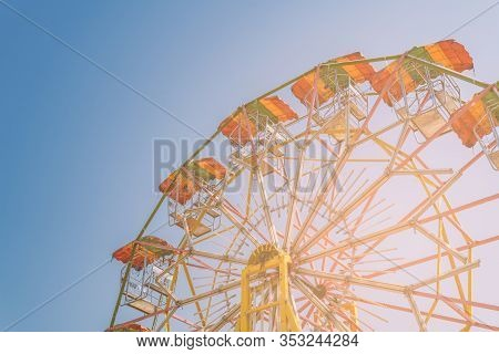 Vintage Style Ferris Wheel