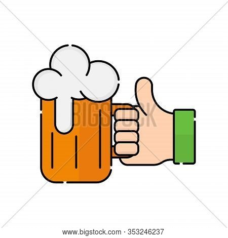 St. Patricks. St. Patricks icon. St. Patricks vector. Beer icon vector. Beer logo. St. Patricks symbol. St. Patrick's Day icon. St. Patricks web icon. St. Patrick's Day vector icon trendy flat symbol for website, sign, mobile, app, UI.