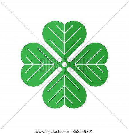 Shamrock. Shamrock icon. Shamrock vector. Shamrock icon vector. Shamrock logo. Shamrock symbol. Clover icon. Shamrock web icon. Shamrock vector icon trendy flat symbol for website, sign, mobile, app, UI.
