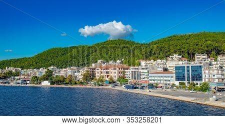 Corfu Island, Greece - October 4, 2019: Amazing Bay With Clear Water On Corfu Island, Greece. Beauti