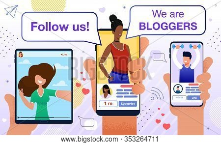 Follow Blogger Motivation. Followers Audience Attraction. Marketing Promotion Plan, Program For Chea