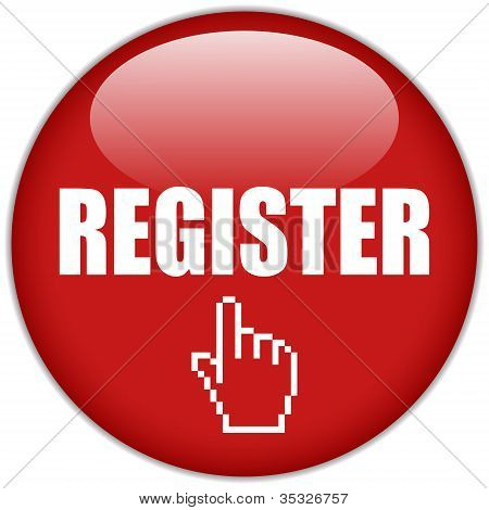 Vector register icon