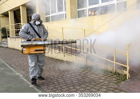Preventive School Disinfection Against The Spread Of The Covid-19