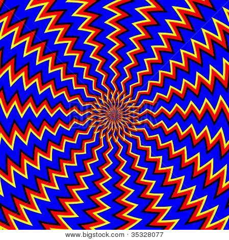 One More Go-around   (motion illusion)