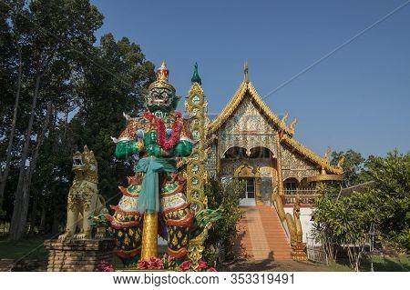 Thailand Lamphun Wat Phra Yuen Temple