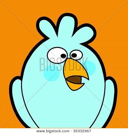 Bird cartoon avatar