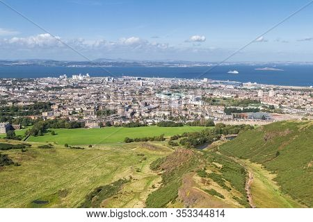 City View From Holyrood Park