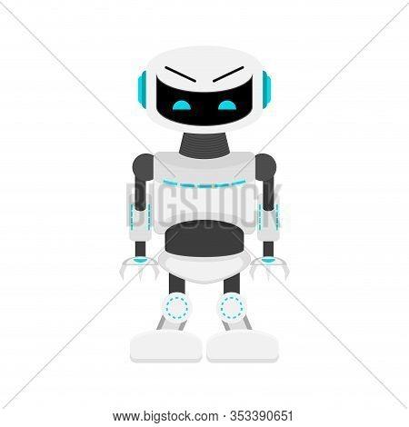 Ai Robot, Cyborg With Artificial Intellect, Modern Helper. Robot Technology, Machine Ai, Intelligenc