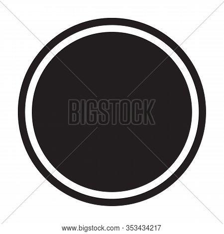 Rivet Bolt Vector Icon.black Vector Icon Isolated On White Background Rivet Bolt.