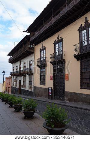 House Of The Balconies (la Casa De Los Balcones) In La Orotava, Tenerife Island