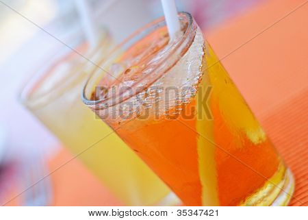 Refreshing Cold Juice Drinks