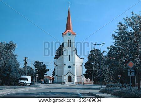 Roman Catholic Church In Dubova Village, Pezinok District, Slovakia