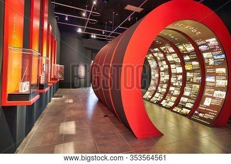 HONG KONG, CHINA - CIRCA JANUARY, 2019: interior shot of