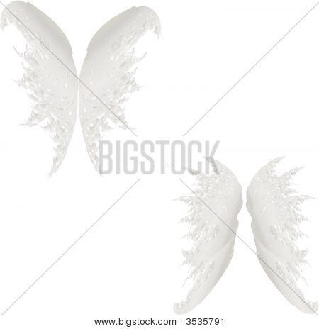 Vector Angel Wings Set