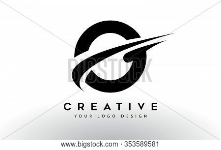 O, Logo, Swoosh, Letter, Design, Creative, Typography, Logo, Corporate, Business, Concept, Vector, S