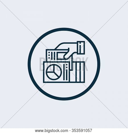 Report Icon Isolated On White Background. Report Icon Simple Sign. Report Icon Trendy And Modern Sym