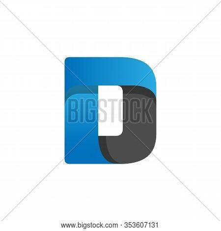 Initial Letter D Logo Design