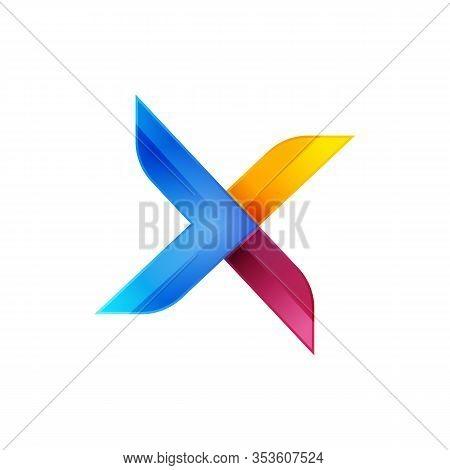 Initial Letter X Logo Design