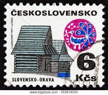 Czechoslovakia - Circa 1971: A Stamp Printed In Czechoslovakia From The