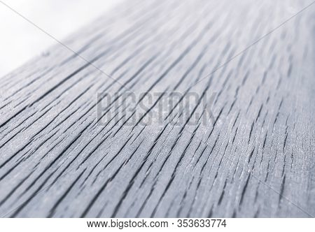 Cracked Board With Deep Cracks