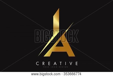 Ia, I, A, Letter, Singular, Logo, Corporate, Business, Concept, Vector, Sign, Symbol, Template, Elem