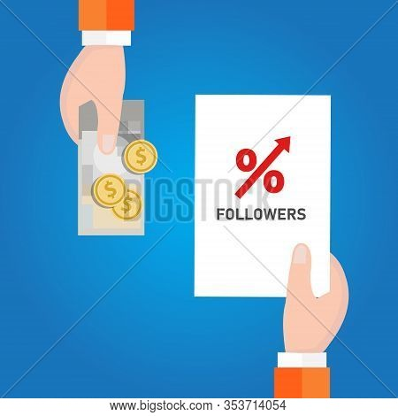 Buy Followers In Social Media To Get Attention From The Crowd. Strategy To Increase Followers Number