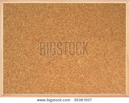 Cork Board with frame