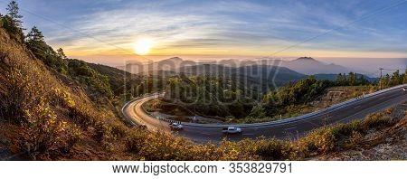Kio Mae Pan Beautiful Road, Inthanon, Chiang Mai, Thailand