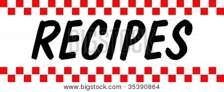 Text Or Word Recipes