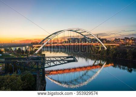Nashville, Tennessee Downtown Skyline