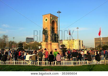 Republic Monument at Taksim Square