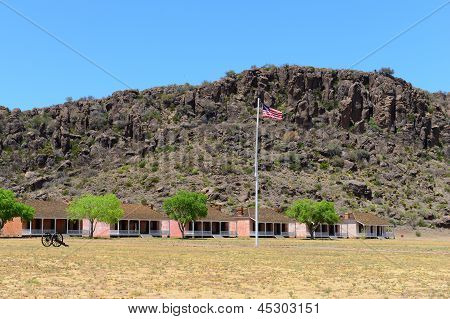 Fort Davis historical site in West Texas