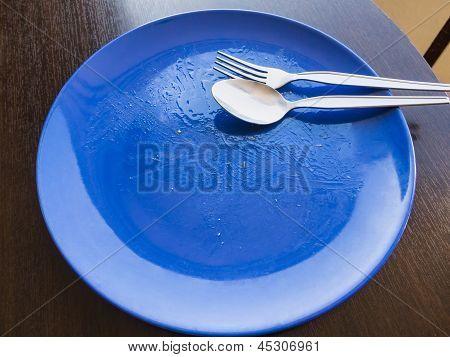 Unwashed Dish