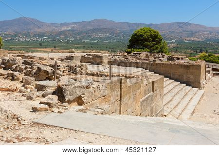 Palacio de Festos. Creta, Grecia