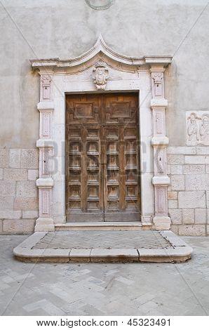 Church of St. Domenico. Venosa. Basilicata. Italy.