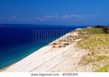 Sand Dunes on Lake Michigan