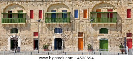 Colourful Doors And Windows