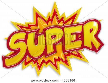 explosive super label