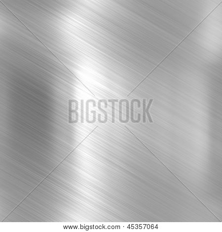 Metal background or texture of bright aluminum sheet