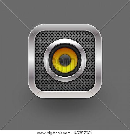Speaker icon. Vector eps10