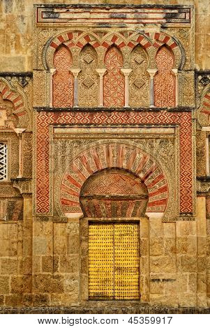 Side Entrance Of The Mezquita-cathedral