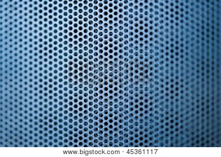Blue Construction Metal Grill