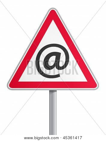 Road sign mail fraud