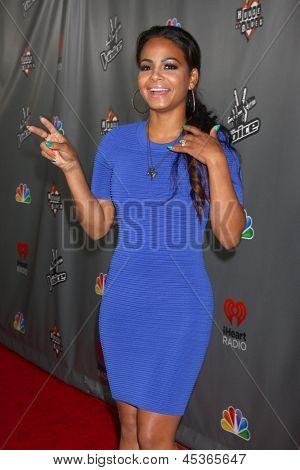 LOS ANGELES - MAY 8:  Christina Milian arrives at
