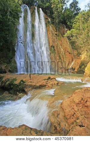 El Salto De Limon Waterfall, Dominican Republic
