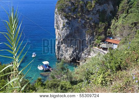 Corfu island in Greece