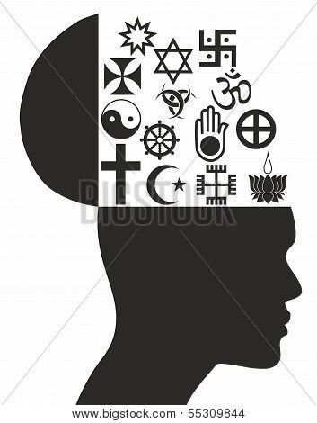 Religious Symbols - Illustration
